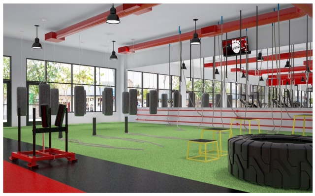 Fitness Room Flooring