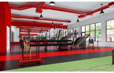 Fitness Room Flooring 3