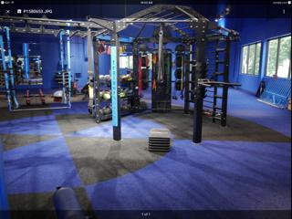 Flooring for training room