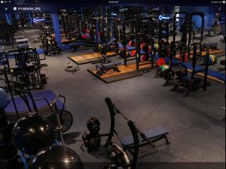 Flooring for training room 3