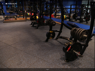 Flooring for training room 4
