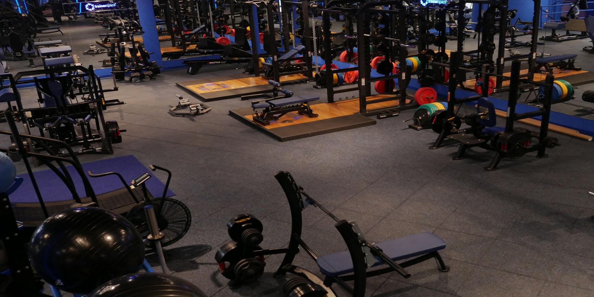 fitness centre flooring