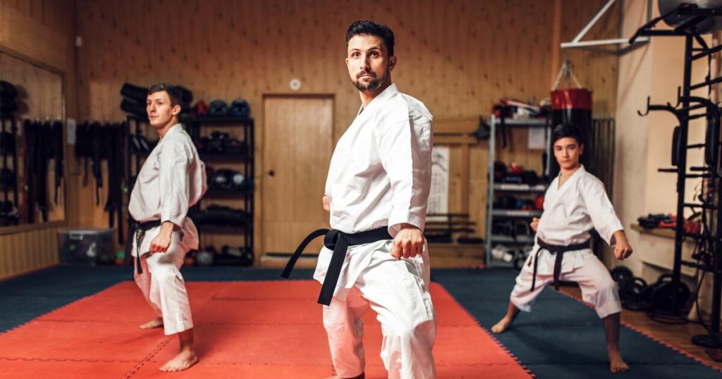 martial arts flooring